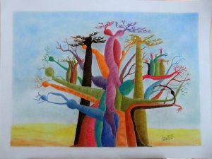 baobab couleurs