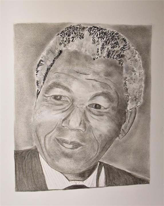 Nelson-Mandela_Crayon-picture-30X40